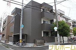 大阪府大阪市平野区長吉長原3の賃貸アパートの外観