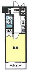 東京都足立区加平3丁目の賃貸マンションの間取り