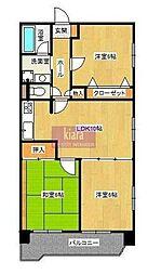 レジデンス永田台[5階]の間取り