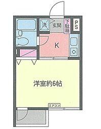 コスモAoi湘南台1[3階]の間取り