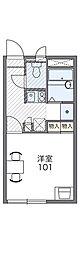 大阪モノレール本線 大日駅 徒歩8分の賃貸アパート 1階1Kの間取り