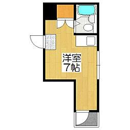 ハイツBARUKO[301号室]の間取り