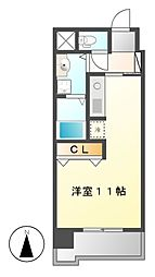 ボヌール千代田[3階]の間取り