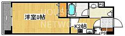 レジディア洛北[108号室号室]の間取り