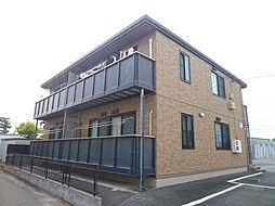 静岡県磐田市堀之内の賃貸アパートの外観