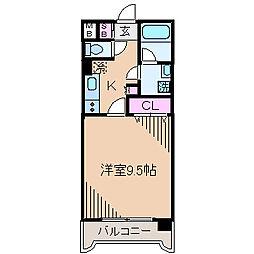 アーバンライフ日吉[2階]の間取り