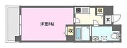 ベルシモンズ桜川[5階]の間取り
