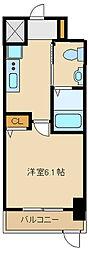 兵庫県尼崎市長洲西通1丁目の賃貸マンションの間取り