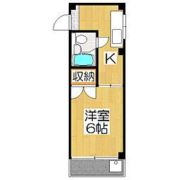ビブラビブレ[3階]の間取り