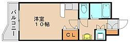 パークコート箱崎イースト[3階]の間取り