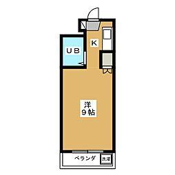 メゾンド亜地路義[2階]の間取り