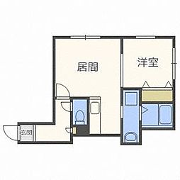 クイント菊水元町[2階]の間取り