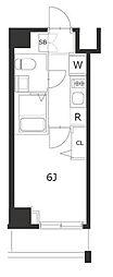 ラフィスタ川崎IV[2階]の間取り