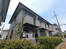 千葉県成田市公津の杜2丁目の賃貸アパートの外観