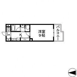 サイプレス小阪駅前[506号室号室]の間取り