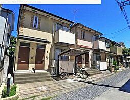 埼玉県川口市鳩ヶ谷本町の賃貸アパートの外観