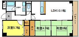 喜連瓜破駅 7.6万円