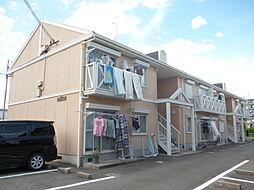 滋賀県湖南市石部東1丁目の賃貸アパートの外観