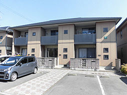 愛媛県松山市山越2丁目の賃貸アパートの外観