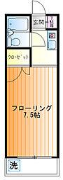 増田ハイツ[2f号室]の間取り