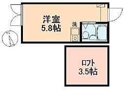 マイプラン新桜台[102号室]の間取り