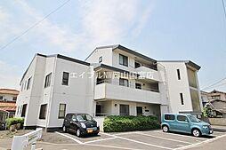 岡山県岡山市中区中島の賃貸マンションの外観