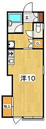 大町ハウス[105号室号室]の間取り