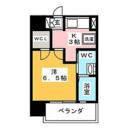 S-FORT高宮[8階]の間取り