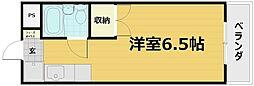 HRKスポーツレジデンス[4A号室]の間取り