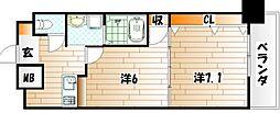 No.65 クロッシングタワー[18階]の間取り