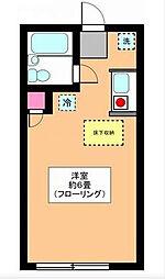 リーベ田浦[102号室]の間取り