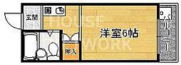 加藤マンション[201号室号室]の間取り