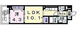 サンプラザ茨木[2階]の間取り