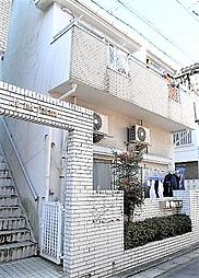 埼玉県草加市松江1丁目の賃貸アパートの外観