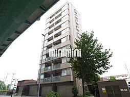 愛知県名古屋市西区鳥見町4丁目の賃貸マンションの外観