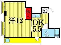 吉田コーポ[3階]の間取り
