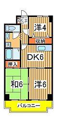 ネモト第三ビル[403号室]の間取り