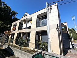 千葉県成田市八代の賃貸マンションの外観