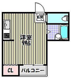 ディーシモンズ堺東[5階]の間取り