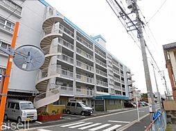 広島県広島市佐伯区楽々園1丁目の賃貸マンションの外観