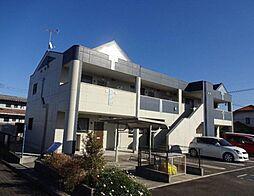 福岡県飯塚市堀池の賃貸アパートの外観