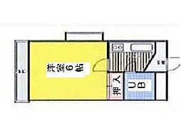 イジェント生田[3階]の間取り