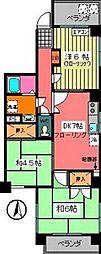 渡辺ビル[6階]の間取り