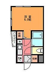 神奈川県相模原市南区相南4丁目の賃貸マンションの間取り