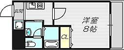 ルミエール新大阪[9階]の間取り