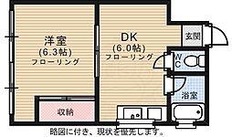 西観音町駅 2.5万円