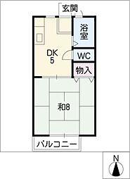 サンパーソン21 A[1階]の間取り