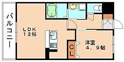 アメニティライフ川島[2階]の間取り