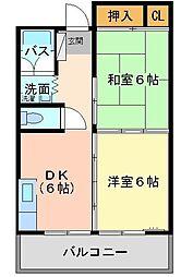 森藤不動産ビル[3階]の間取り
