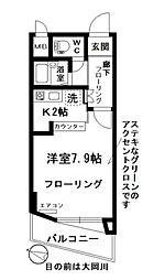 神奈川県横浜市港南区笹下1丁目の賃貸マンションの間取り